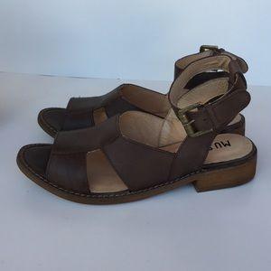 Leather Musse $ Cloud Sandals